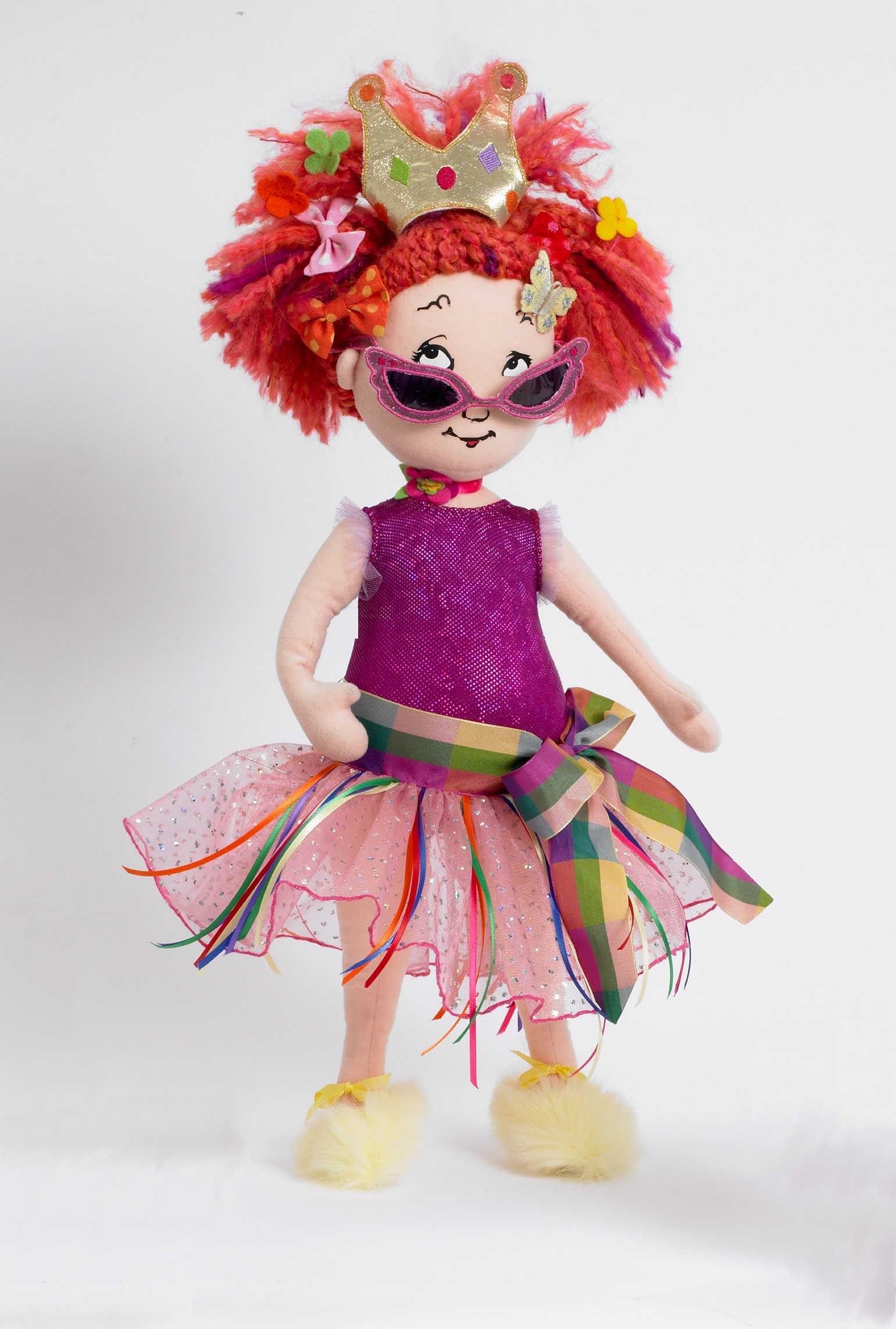 "Fancy Nancy Cloth Doll 18"" and 29"""