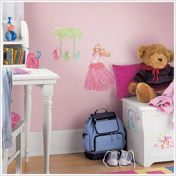 Barbie Princess Wall Sticker Decals