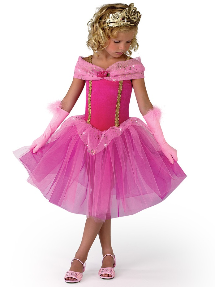 Deluxe Sleeping Beauty Dress