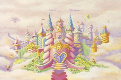 Princess Castle - Wallpaper Mural