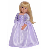 Deluxe Rapunzel Doll Dress