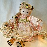 Rapunzel Musical Doll