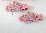 Royal Crown Hair Clips