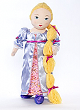 Rapunzel Doll Cloth 18 Inch