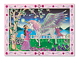Princess Peel & Stick Wooden Picture by Number