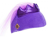 Purple Princess Helmet Cover