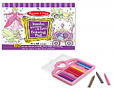 Princess + Fairy Jumbo Coloring Book + Crayons