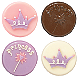 Princess Cookie Candy Molds