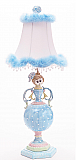 Fancy Blue Princess Lamp