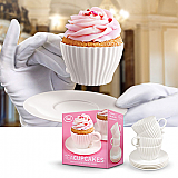 Tea Cup Cakes Silicone Baking Cups