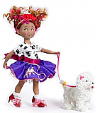 "Fancy Nancy and the Posh Puppy 9"" Doll"