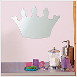 Tiara Peel & Stick Mirror