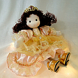 The Princess & The Pea Musical Doll