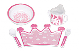 Princess Crown Dinner Ware Set
