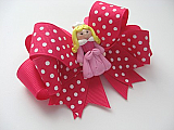 Sleeping Beauty Hair Bow