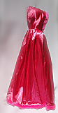 Hot Pink Satin Cape