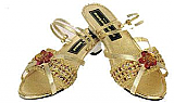 Gold Dress Up Shoes