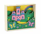 Princess Castle Paint By Numbers