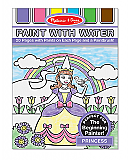 Princess Paint with Water Book