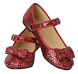 Sparkly Red Glitter Shoes