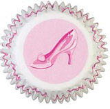 Princess Slippers Mini Cupcake Baking Cups