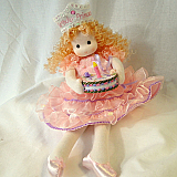 Blonde Birthday Princess Musical Doll