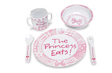 Princess Eats! Dinner Ware Set