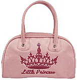 Pink Princess Bowling Bag with Hot Pink Crown