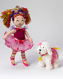 "Cloth Fancy Nancy 9"" + Frenchy"