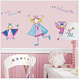 Fairy Princess Peel & Stick Wall Appliques