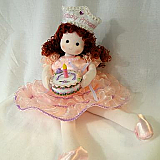 Auburn Birthday Princess Musical Doll
