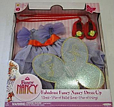 Fancy Nancy Doll Purple Butterfly Dress